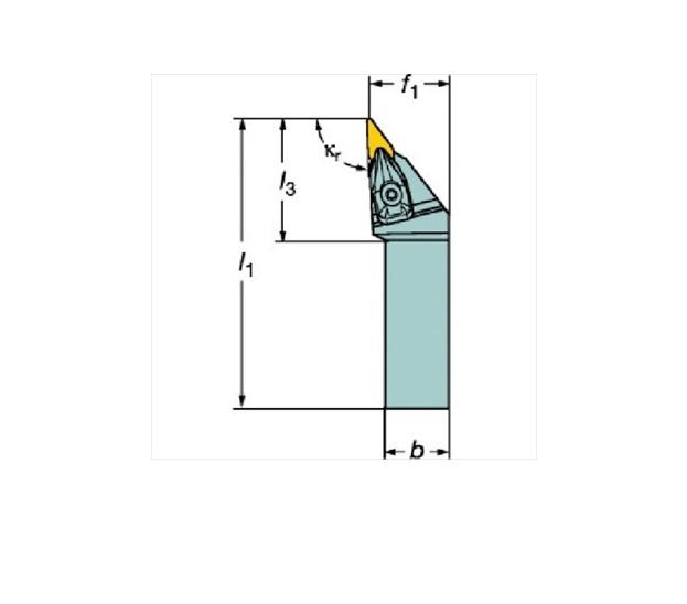 サンドビック(株)コロマントカンパニー サンドビック コロターンRC ネガチップ用シャンクバイト [ DVJNL3232P16 ]