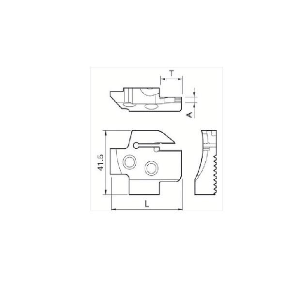 京セラ(株) 京セラ 溝入れ用ホルダ [ KGDFR653CC ]