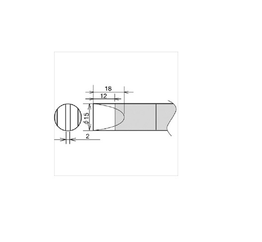 太洋電機産業(株) グット 替こて先 RX-892AS用 15D [ RX89HRT15D ]