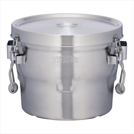 サーモス 18-8高性能保温食缶(シャトルドラム) [GBB-10CP] [7-0185-0701] AKU0301