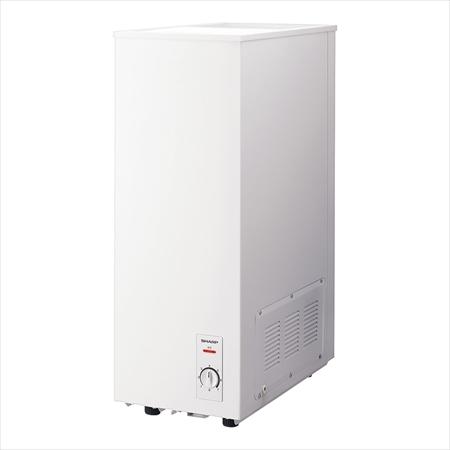 直送品■ シャープ 冷凍ストッカー [FC-S4D-W] [7-0683-0701] EST5801
