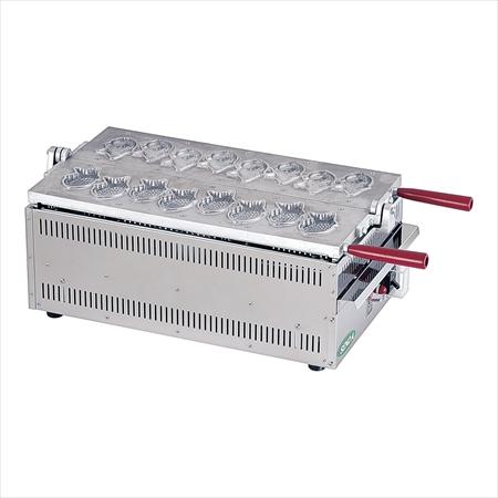 電気式 ミニたい焼き機 1連式8匹焼  TAS-02 7-0932-0601 gti3401