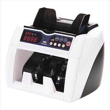 [7-2508-0201] 小型紙幣計数機 直送品■マイチェッカー [DN-600A] XSH1201