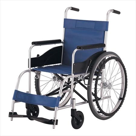 直送品■ アルミ車椅子(折りたたみ式) [KZ-10LN <非課税>] [7-2386-0101] ZKL8601