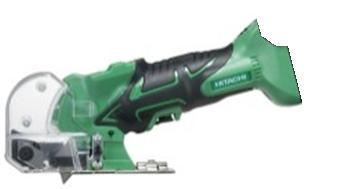 HiKOKI[ 日立工機 ]  14.4V/18V兼用 コードレスナイフカッタ CK18DSAL(NN) 【本体のみ】緑