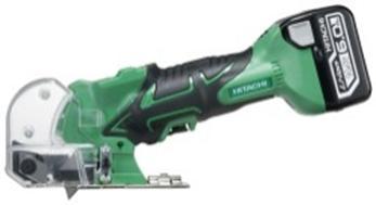 HiKOKI[ 日立工機 ]  14.4V/18V兼用 コードレスナイフカッタ CK14DSAL(LYPK) 【6.0Ah電池付 フルセット】緑