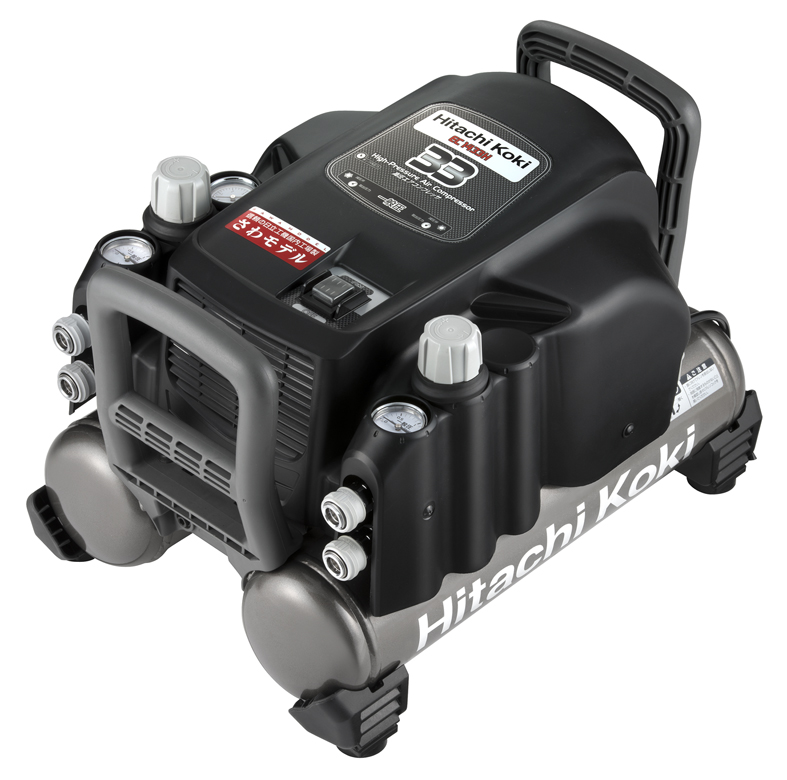 HiKOKI[ 日立工機 ]  常圧エアコンプレッサ EC1433H(N) 【一般圧専用(50Hz/60Hz共用)】