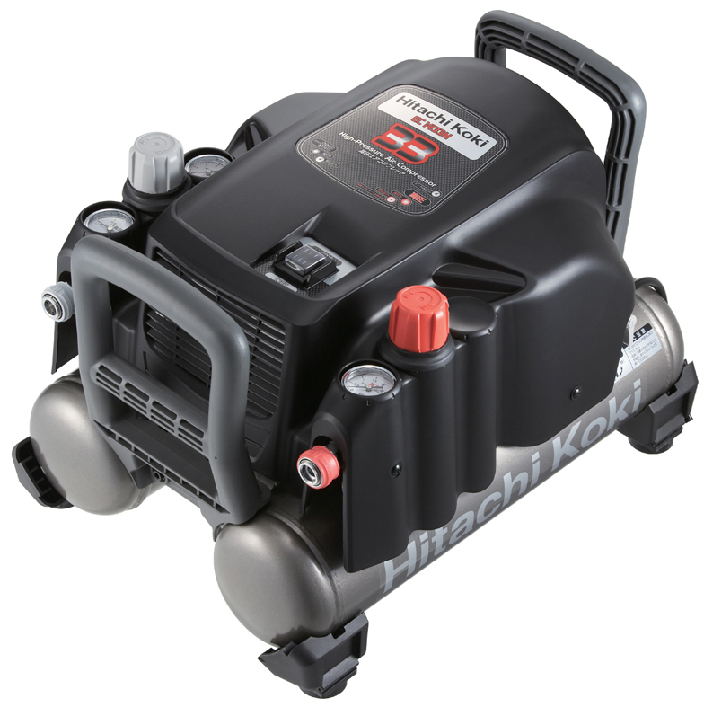 HiKOKI[ 日立工機 ]  高圧エアコンプレッサ EC1433H 【高圧・一般圧対応(50Hz/60Hz共用)】