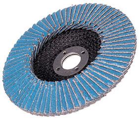 HiKOKI[ 日立工機 ]  ディスクグラインダー用 テーパ式多羽根ディスク(ジルコニア)外径100mm 粒度120【0000-3510】50枚入