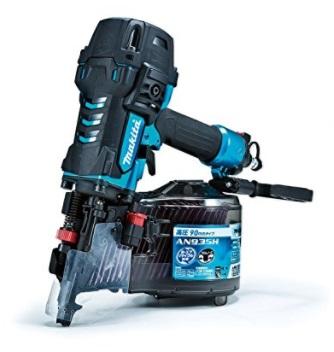 マキタ 90mm 高圧エア釘打AN935HM(エアダスタなし) 青