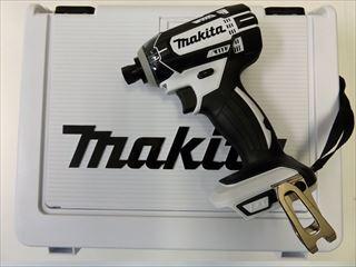 マキタ 14.4V 充電式インパクトドライバTD138D【本体+ケース】 ホワイト ※バッテリ、充電器別売