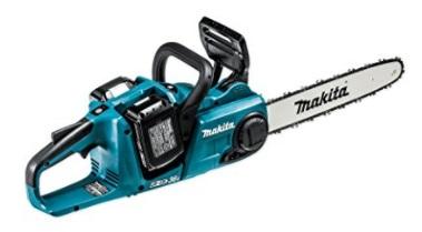 マキタ 18V(6.0Ah) 充電式チェンソーMUC353DPG2【フルセット】 青