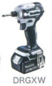 マキタ 18V (6.0Ah) 充電式インパクトドライバTD171DRGXW【フルセット】 白【M01】