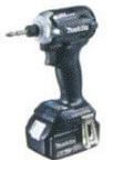 マキタ 18V (6.0Ah) 充電式インパクトドライバTD171D【電池1個仕様】 黒【M02】