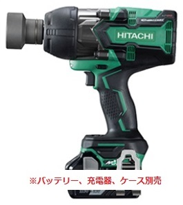 ★マルチボルト★ HiKOKI[ 日立工機 ]  36V インパクトレンチ WR36DA(NN)【本体のみ】※バッテリ、充電器、ケースは別売です。
