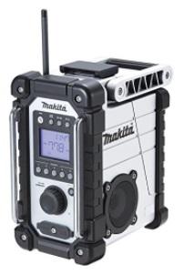 マキタ 充電式ラジオ MR107W 白【本体のみ】※バッテリ、充電器別売【M03】