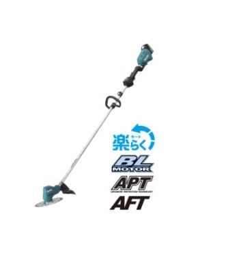 マキタ 18V (3.0Ah) 充電式草刈機 MUR185LDRF 青 【フルセット】【ループハンドル】