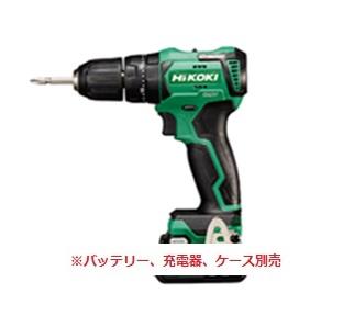 HiKOKI[ 日立工機 ]  10.8V コードレス振動ドライバドリル DV12DD(NN)【本体のみ】※バッテリー、充電器、ケースは別売です。