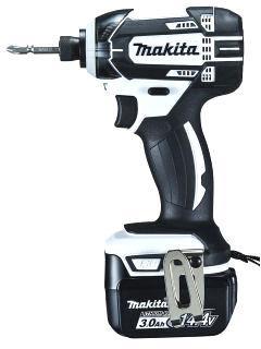 マキタ 14.4V (3.0Ah)充電式インパクトドライバー TD138DRFXW 【フルセット】白