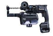 マキタ 14.4V (6.0Ah) 18mm 充電式ハンマドリル  HR181DGXVB【集じんシステム付[コンクリート穴あけ専用]・ビット別売)】 黒【M03】