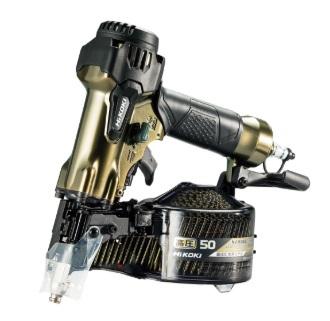 HiKOKI[ 日立工機 ]  高圧ロール釘打機 NV50H2 ハイゴールド