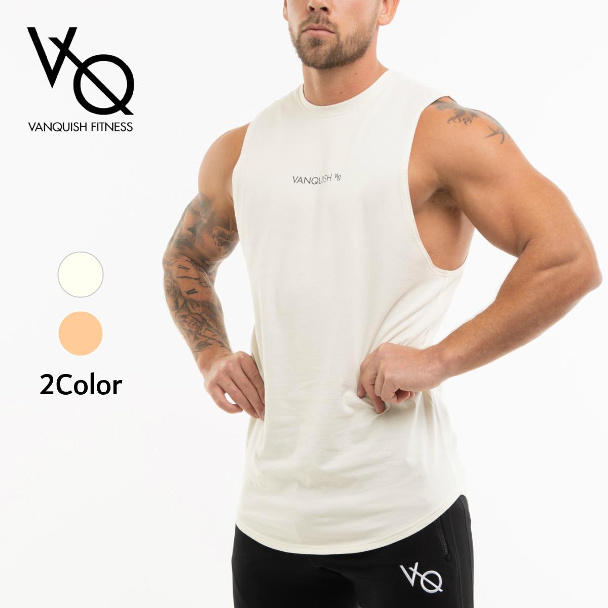 人気上昇中 送料無料 ヴァンキッシュ フィットネス 新作カラー VANQUISH FITNESS CORE MEN'S SLEEVELESS T ジム スリーブレス SHIRT 筋トレ お気に入り 衣類 メンズ Tシャツ 3 ノースリーブ 正規品
