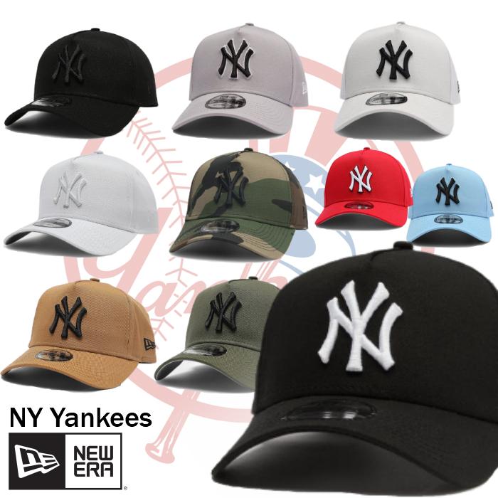 送料無料 ニューエラ NEW ERA キャップ NY 帽子 New York Yankees ニューヨークヤンキース A-Frame 限定モデル ブラック Snapback ユニセックス 10種類 メンズ 9FORTY 爆買い新作 新作販売 正規品 希少カラー