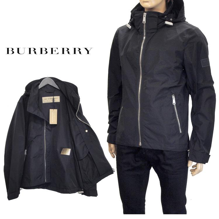 バーバリー BURBERRY ジャケット パックアウェイフード シャワープルーフ 4062158-00100 BLACK ブラック