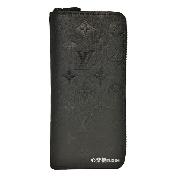 【キャッシュレス5%還元対象】≪新品≫ルイヴィトン LOUIS VUITTON ジッピーウォレット・ヴェルティカル モノグラム・シャドウ M62902 レザー ブラック 黒 長財布 箱のラッピング