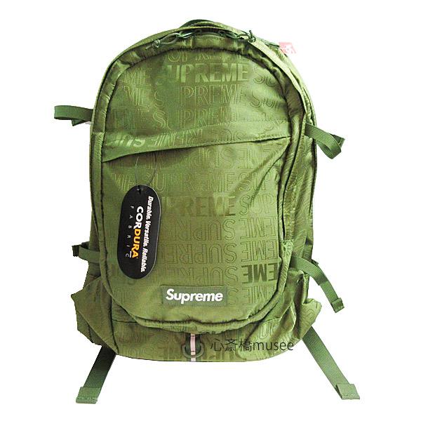 【キャッシュレス5%還元対象】≪新品≫ Supreme 19ss SUPREME Backpack Cordura OLIVEシュプリーム バックパック リュックサック 新作 オリーブ