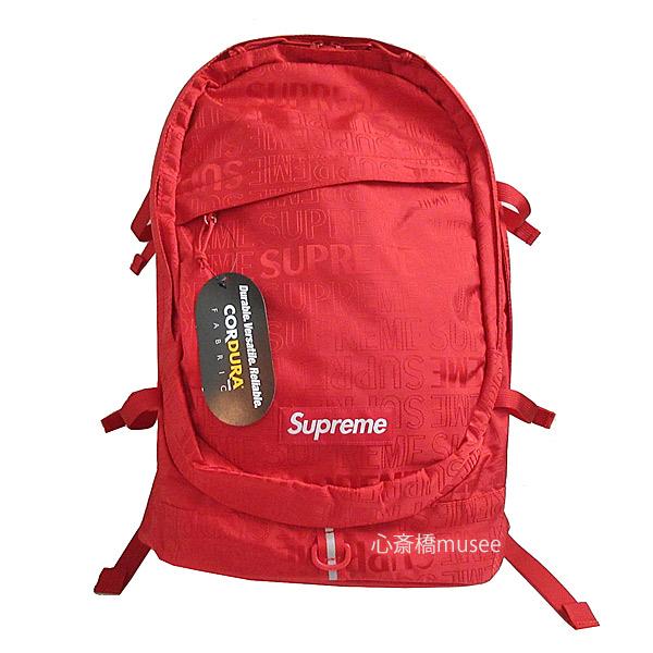 【キャッシュレス5%還元対象】≪新品≫ Supreme 19ss SUPREME Backpack Cordura Red シュプリーム バックパック リュックサック 新作 レッド 赤