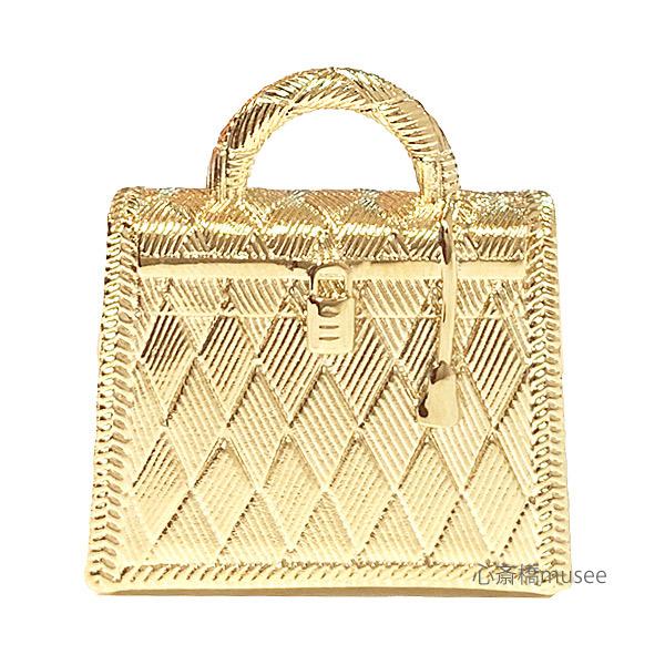 【キャッシュレス5%還元対象】《新品》エルメス ケリー キュリオジテ「KELLY CURIOSITE」チャーム ペンダントトップ ゴールド HERMES 箱・リボンのラッピング GOLD