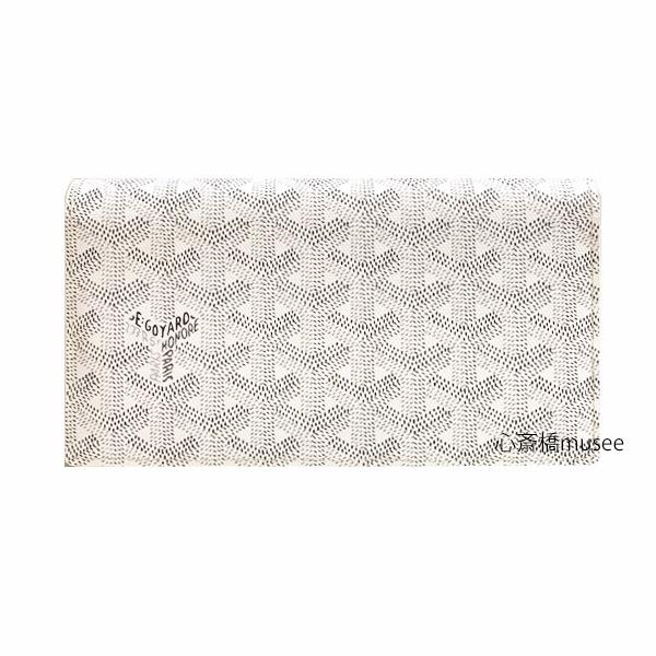 ≪新品≫ 正規品 GOYARD ゴヤール 長財布 リシリュ 205 白 ホワイト スペシャルカラー 箱・リボンのラッピング