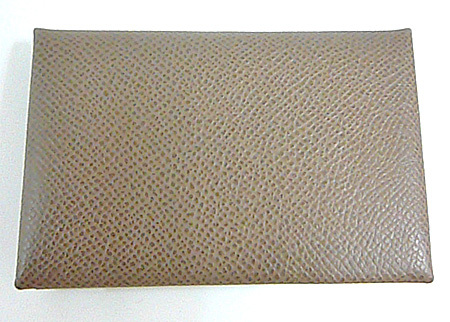 ≪新品≫ エルメス カードケース 「 カルヴィ 」 エトープ エプソン 名刺入れ 新品 箱 リボン付