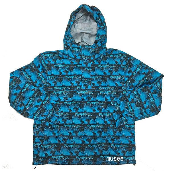 【キャッシュレス5%還元対象】新品 Supreme 18SS World Famous Taped Seam Hooded Pullover Blue S サイズ シュプリーム ワールドフェイマステープドシーム フーデッド プルオーバー ブルー S