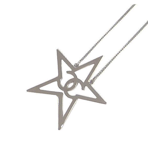 ≪新品≫CHANEL ココ スター 星 ラインストーン ネックレス ブルー A96743 ガンメタル金具 箱・リボンでのラッピング