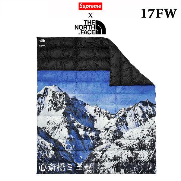 【キャッシュレス5%還元対象】≪新品≫ 17FWコラボ SUPREME THE NORTH FACE Mountain Nuptse Blanket シュプリーム ノースフェイス コラボ ブランケット