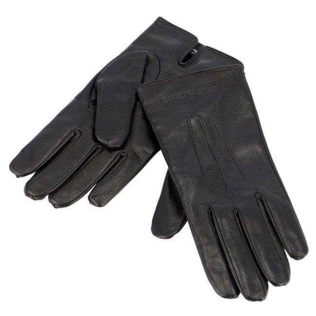 エンポリオ アルマーニ/EMPORIO ARMANI 手袋 メンズ グローブ NERO 2020年秋冬新作 624139-CC203-00020