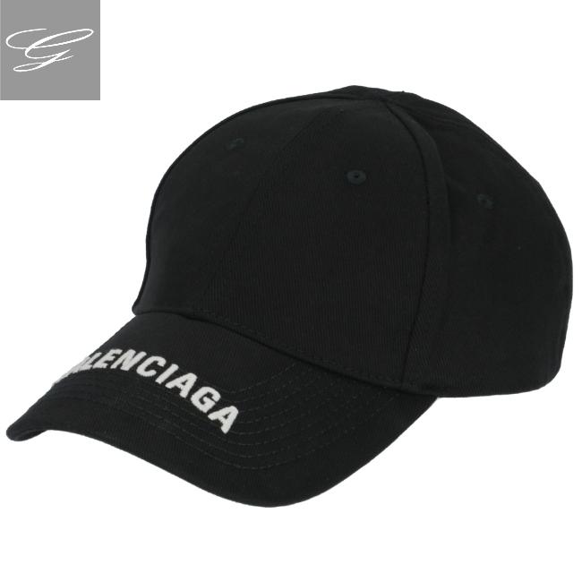 バレンシアガ メンズ キャップ NERO+BIANCO バレンシアガ/BALENCIAGA 帽子 メンズ キャップ NERO+BIANCO 2019年秋冬新作 531588-410B2-1077