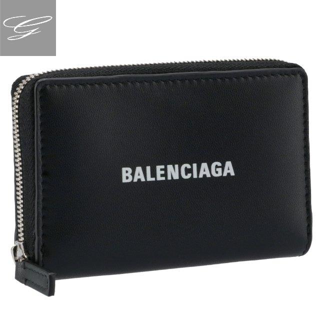 バレンシアガ/BALENCIAGA 小銭入れ メンズ カーフスキン コインケース BLACK 2020年秋冬新作 616911-1I353-1090