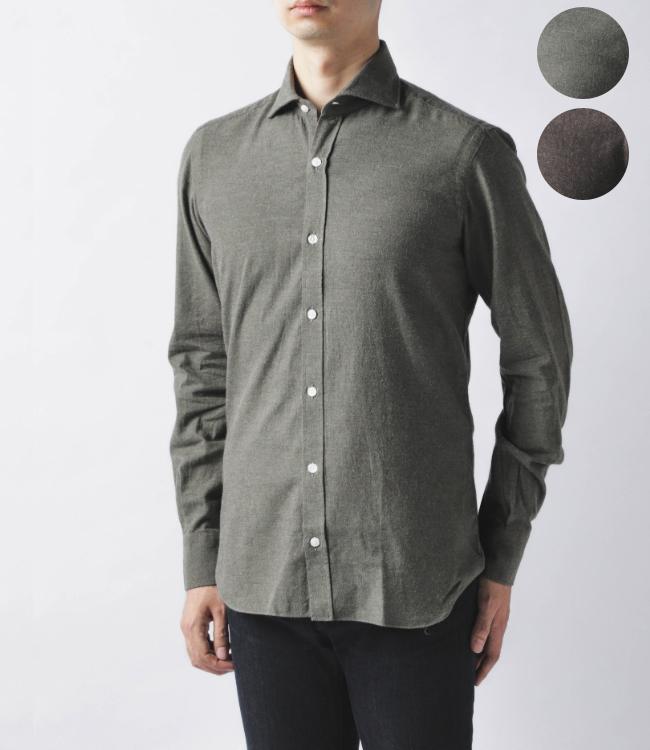 【2019AW SALE】バルバ/BARBA シャツ メンズ DANDYLIFE コットンシャツ LFU136-6050