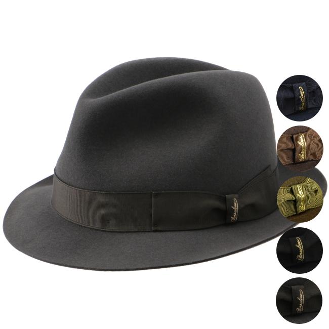 【2019AW SALE】ボルサリーノ/BORSALINO 帽子 メンズ MARENGO マレンゴ ハット 490029-0029