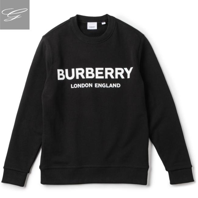 バーバリー/BURBERRY トップス メンズ LANSLOW スウェットシャツ BLACK 2020年春夏新作 8011357【ロゴアイテム】