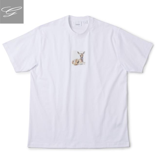 バーバリー/BURBERRY シャツ メンズ DEVON Tシャツ WHITE 2020年春夏新作 8022370
