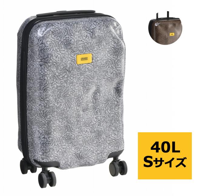 クラッシュバゲージ スーツケース CRASH BAGGAGE バッグ SURFACE S 40L キャリーバッグ 機内持ち込み CB121-0001