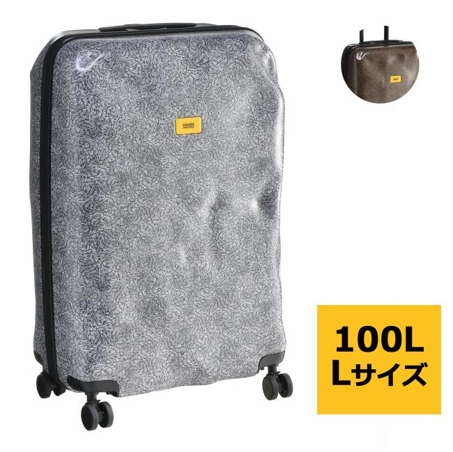 【2019AW SALE】クラッシュバゲージ スーツケース CRASH BAGGAGE バッグ SURFACE L 100L キャリーバッグ CB123-0001