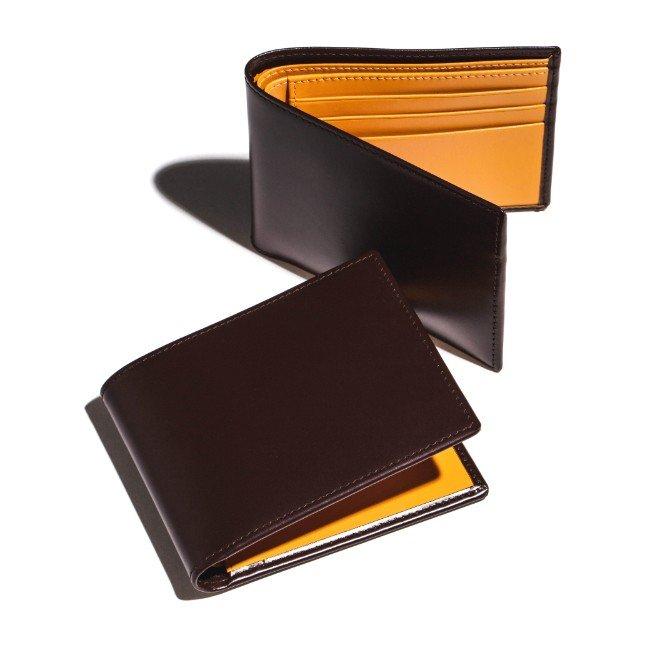 エッティンガー/ETTINGER 財布 メンズ Bridle Hide 二つ折り財布 ブラウン BH030CJR-0001-0003 2020年秋冬