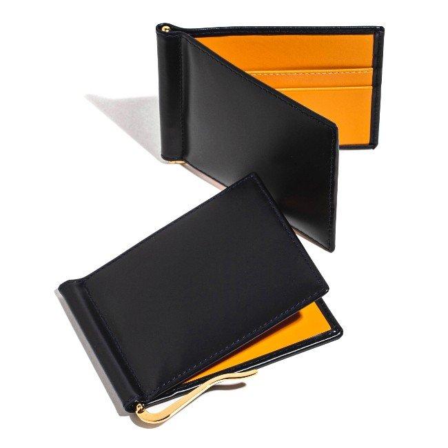 エッティンガー/ETTINGER 財布 メンズ Bridle Hide 二つ折り財布 ネイビー BH787AJR-0001-0002 2020年秋冬