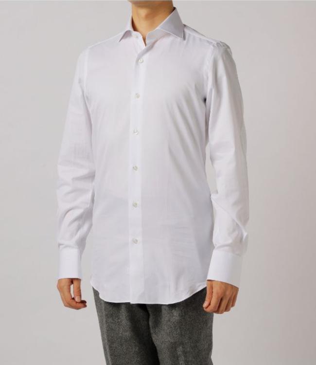 【2019AW SALE】フィナモレ/FINAMORE シャツ メンズ MILANO ワイドカラードレスシャツ ZANTE-840628