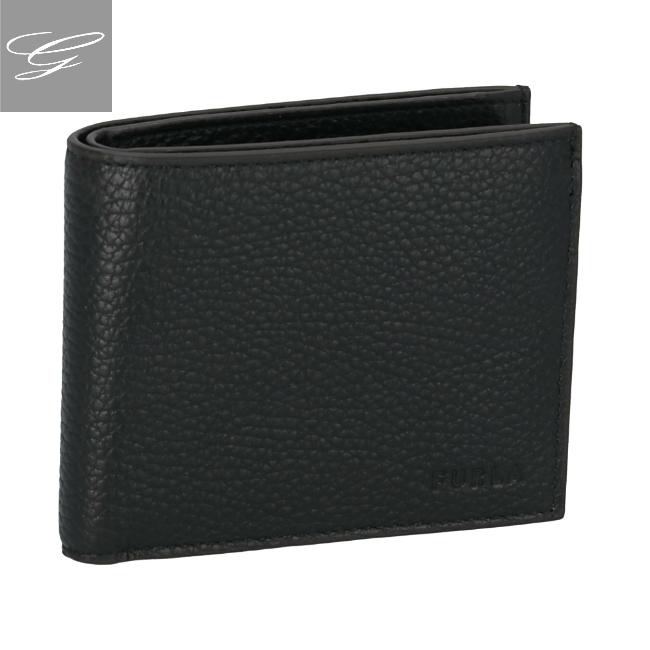 【20SS SALE】フルラ/FURLA 財布 メンズ MERCURIO 二つ折り財布 ONYX 2020年春夏 PDE2-HSF-O60